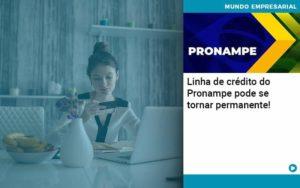 Linha De Credito Do Pronampe Pode Se Tornar Permanente Organização Contábil Lawini - FOX CONTABILIDADE