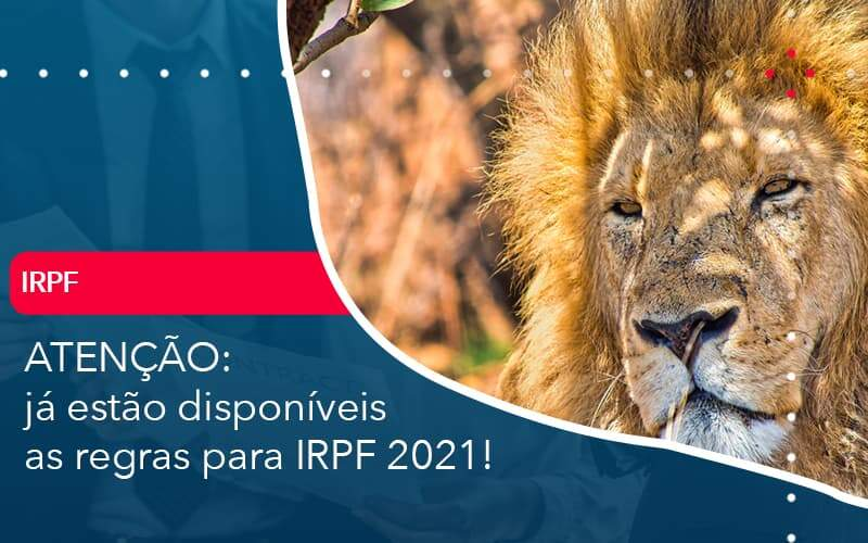 Ja Estao Disponiveis As Regras Para Irpf 2021 Organização Contábil Lawini - FOX CONTABILIDADE